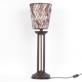 Tafellamp Tiffany Cilinder