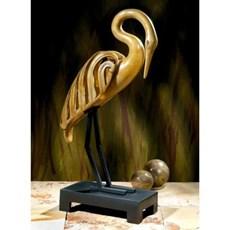 Rustende Kraanvogel Sculptuur