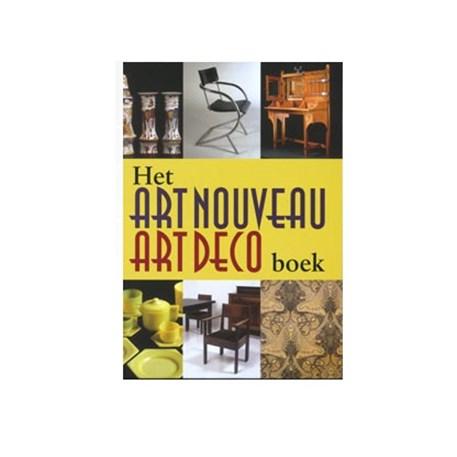 Het Art Nouveau en Art Deco Boek