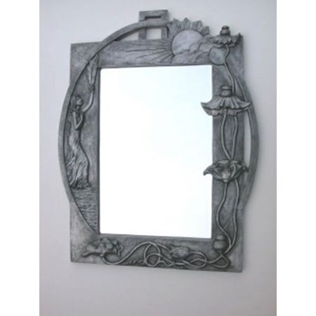 art nouveau spiegel charisma. Black Bedroom Furniture Sets. Home Design Ideas