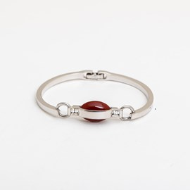 Ovaleri Armband met Agaat