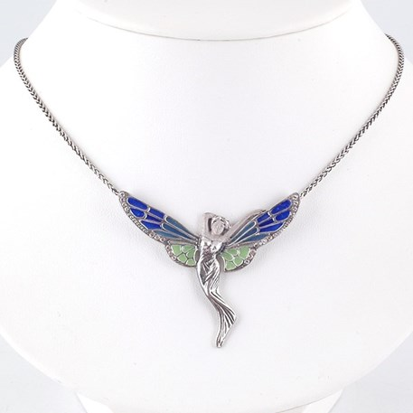 Collier Angelic Emaille