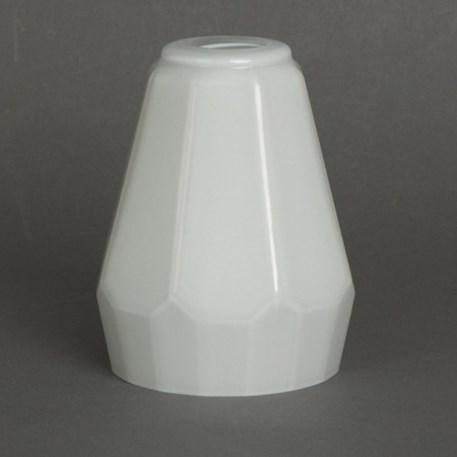 Opaline glaskap Veelkant