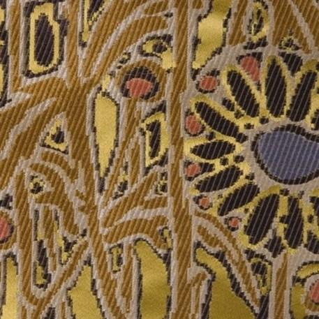 Meubel/Gordijn Stof Lalique in Goud
