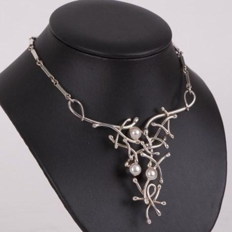 Sterling zilveren Collier Parel Extase