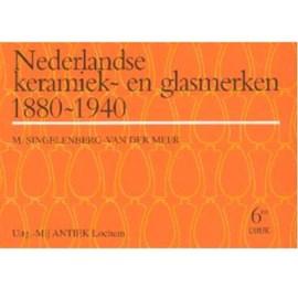 Boek Nederlandse Keramiek en Glasmerken