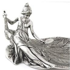 Art Nouveau Schaal Peacock
