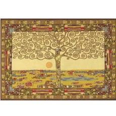 Wandkleed/Gobelin Klimt De Levensboom