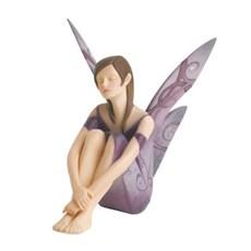 Sculptuur Friendship Fairy Paars