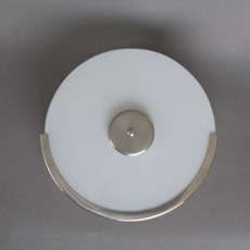 Trappenhuislamp Circle Matnikkel