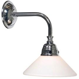 Badkamerlamp Nostalgic Conisch Chroom