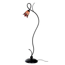 Tiffany Vloerlamp Lovely Flower Red