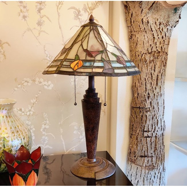 Tiffany Tafellamp Calla
