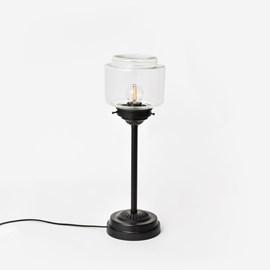 Slanke Tafellamp Getrapte Cilinder Small Helder Moonlight