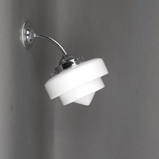 Buiten/ Forse Badkamer Wandlamp Twee Traps Punt