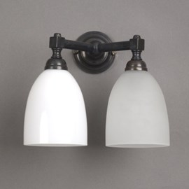 Badkamerlamp V-Vorm met Open Kappen