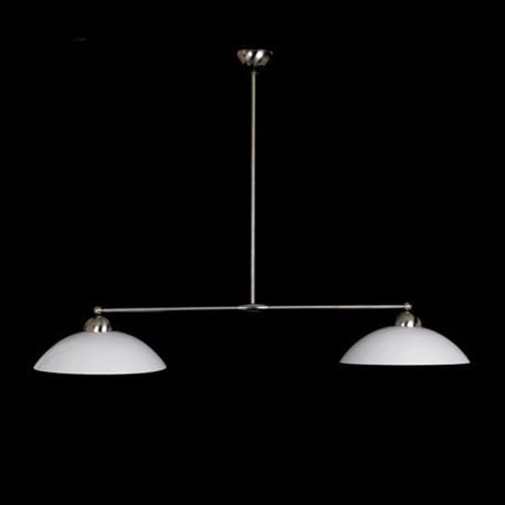 T-Hanglamp 2 Kappen met Glasschaal