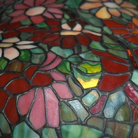 Originele Tiffany Reproductie Zinnia