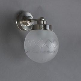 Wandlamp Geslepen Bol Ets
