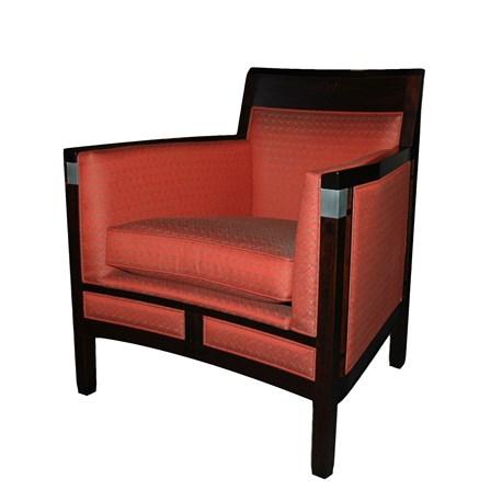 art deco fauteuil rennie. Black Bedroom Furniture Sets. Home Design Ideas
