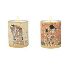 Set van 2 Kaarsen Klimt