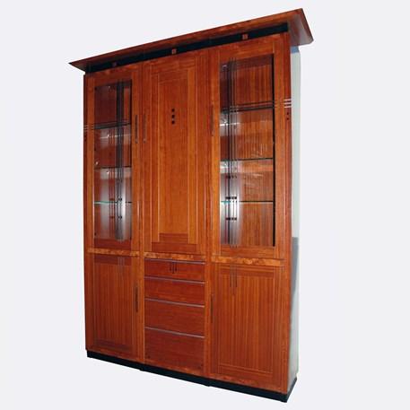 Schuitema vitrinekast ook met indeling als Boekenkast, TV kast Computerkast
