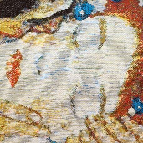 Detail Wandtapijt Kiss
