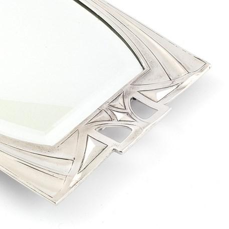 Detail van Art Nouveau spiegel Emmanuel