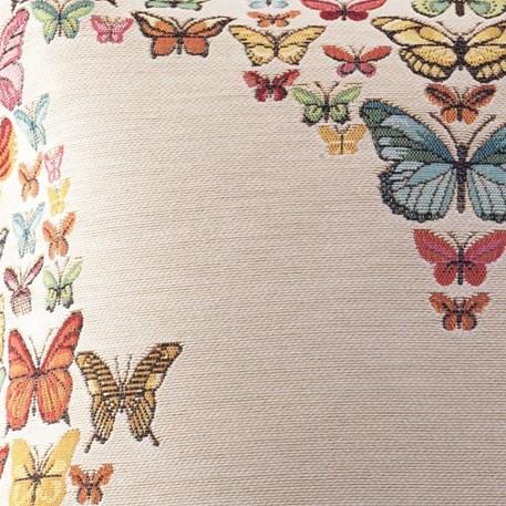 Detail Kussen Vlinderregen
