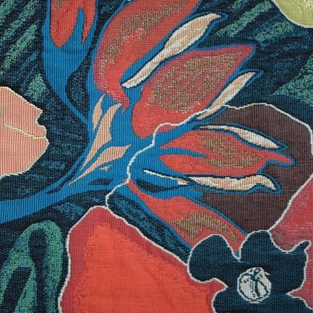 Detail Wandkleed De Tuin der Creatie