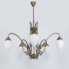 Victor Horta Kroonluchter Elegantie
