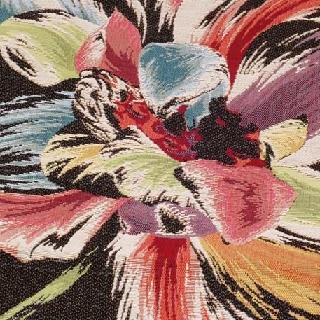 Detail Kussen Colourful Tulip