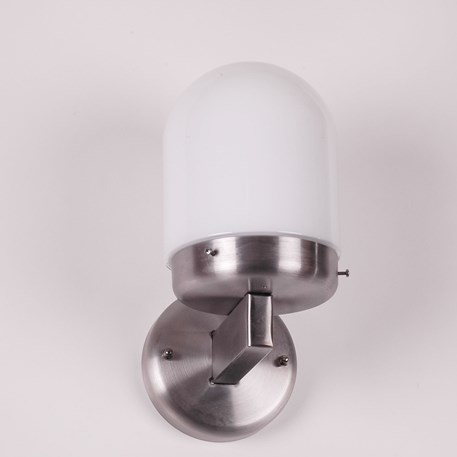 Wand Buitenlamp Bolkop