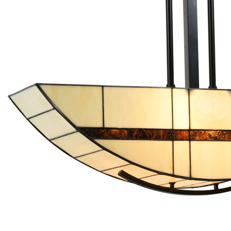 Tiffany Hanglamp Geometric Detail