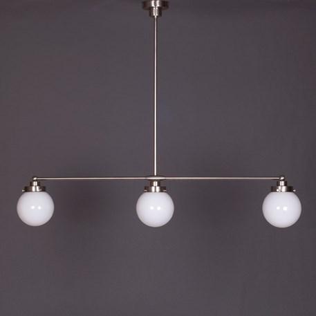 Hanglamp 3-Lichts met Bol in 3 maten