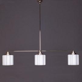 Hanglamp 3-Lichts met Glaskappen Kramer