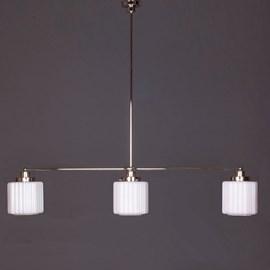 Hanglamp 3-Lichts met Glaskappen Thalia