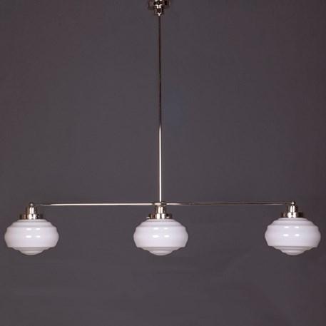 Hanglamp 3-Lichts met Glaskappen Alfons