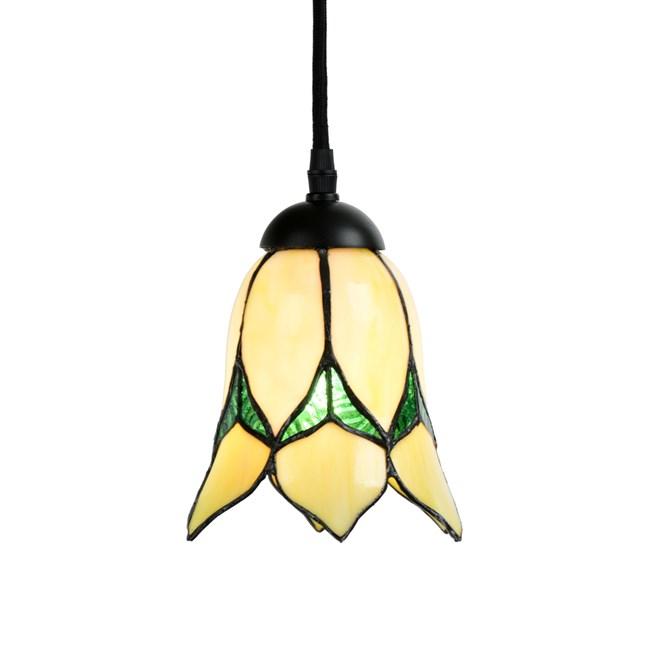 Tiffany Hanglamp Lovely Flower Yellow
