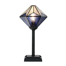 Tiffany Tafellamp Akira Blue