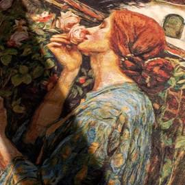 Wandtapijt The Soul of the Rose | John William Waterhouse