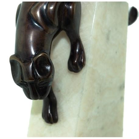 Sculptuur Art Deco Panther