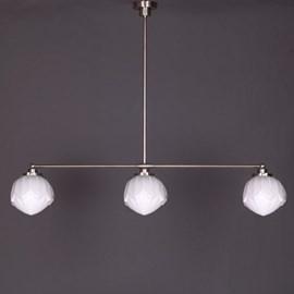 Hanglamp 3-Lichts met Lotus