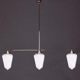 Hanglamp 3-Lichts met Briljant Mat Opaal