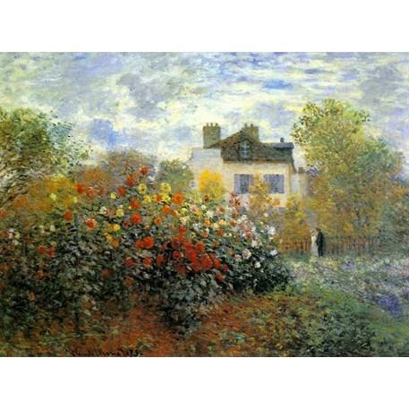 De Tuin in Argenteuil | Monet