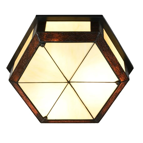 Tiffany Plafonnière Geometric