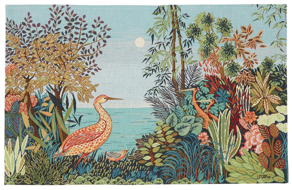 Wandkleed Watervogels